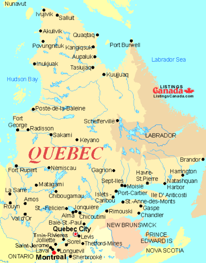 About the province of Quebec - French Immersion School ...